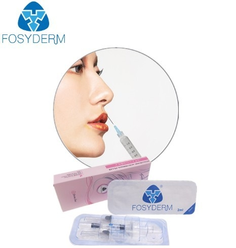 2ml Hyaluronate Acid Gel For Lips Enhancement , Hyaluronic Acid Injectable Filler