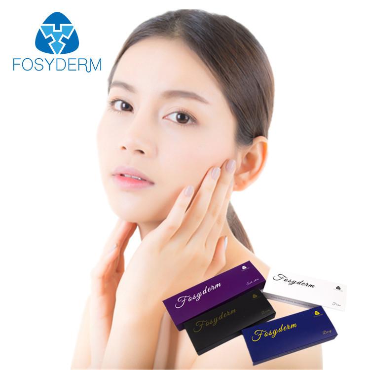 Korea Injectable 2ml Cross Linked Dermal Filler , Painless HA Hyaluronic  Acid Fillers