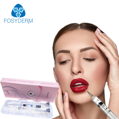 China Fosyderm 2ml Derm Lip Dermal Filler Hyaluronic Acid Injection For 8-12 Months factory