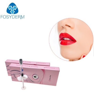 China Lip Enhancement Hyaluronic Acid Based Fillers , Cross Linked Ha Filler Injection factory