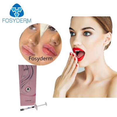 China 24mg/ml Hyaluronic Acid Demal Filler 2ml Syringe Derm For Sexy Lips factory