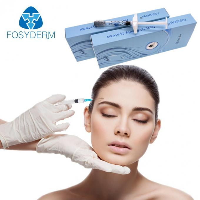 1ml Hyaluronic Acid Dermal Filler Wrinkle Facial Contour Fine Derm Deep Fosyderm For Lips
